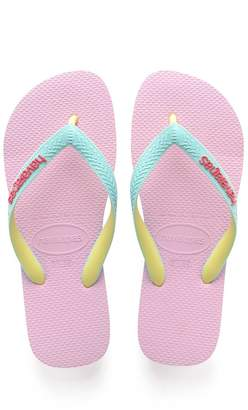 Havaianas Boys Kid's Pink Top Mix Flip Flop - Pink