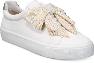 INC International Concepts I.n.c. Women's Sanice Bow Sneakers
