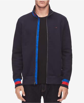 Calvin Klein Men Full-Zip Sweater