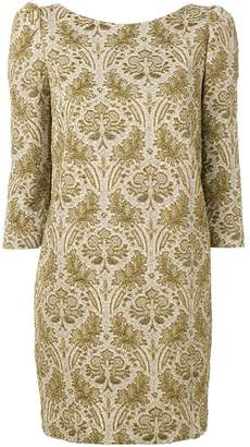 Semi-Couture Semicouture jacquard mini dress