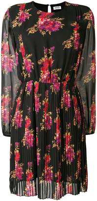 Liu Jo peony print pleated dress