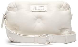 Maison Margiela Glam Slam Quilted Leather Cross Body Bag - Womens - White