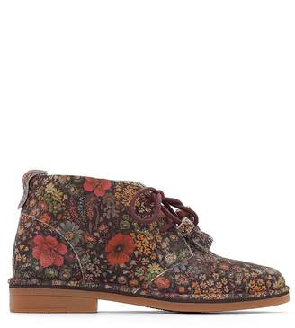 Hush Puppies Cyra Catelyn Leather Ankle Boots
