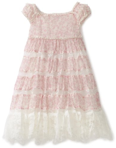Biscotti Baby-Girls Infant Belle Fleur Print Dress