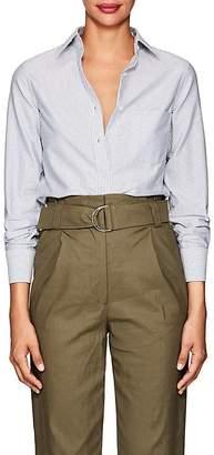 Barneys New York Women's Striped Cotton Shirt