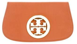 Tory Burch Leather Logo Clutch