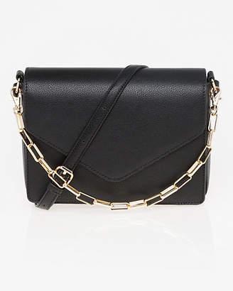 Le Château Pebble Leather-Like Crossbody Bag