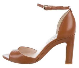 LK Bennett Leather Ankle Strap Sandals