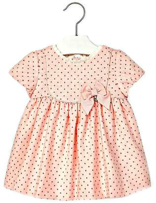 Mayoral Baby-Girl Pink-Wool-Blend Dress