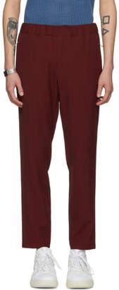 Stella McCartney Burgundy Piet Trousers