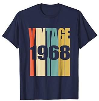 Retro Vintage 1968 T-Shirt 50 yrs old Bday 50th Birthday Tee