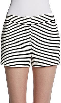 BCBGMAXAZRIA Striped Knit Shorts