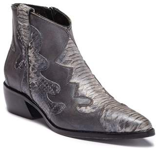 09652dc946bf10 Gray Leather Bootie Womens - ShopStyle