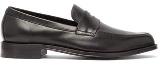 Paul Smith Lowry Flexible Sole Leather Penny Loafers - Mens - Black