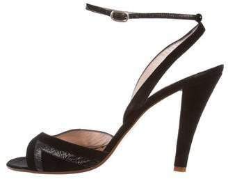 Marc Jacobs High-Heel Suede Sandals