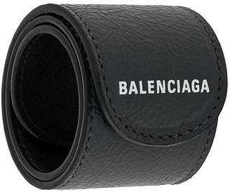 Balenciaga logo cuff