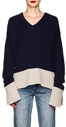 Derek Lam 10 Crosby Women's Wool-Blend V-Neck Sweater - Navy