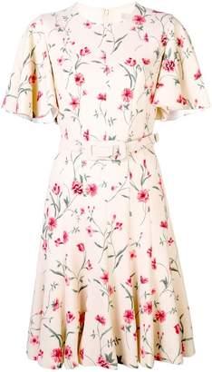 Michael Kors floral belted dress