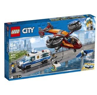 Lego City Buildable Playset Sky Police Diamond Heist 60209