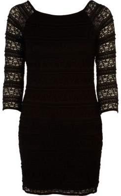 River Island Black lace shift dress