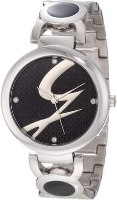 Gattinoni Women's Astra Stainless Steel Logo Dial Watch W0197LSSBLK