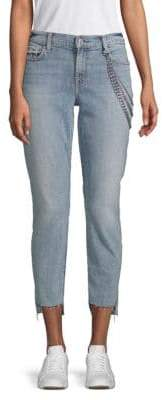 7 For All Mankind Chained Ankle Skinny Jeans