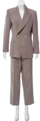 Christian Dior Wool High-Waist Pantsuit