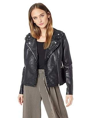 Jessica Simpson Women's Moto Jacket