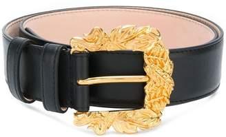 Versace western buckle belt