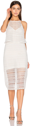 Line & Dot Daiguiri Halter Dress $96 thestylecure.com