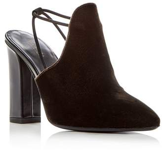 Via Spiga Women's Arina Velvet High-Heel Mules