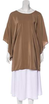 Twelfth Street By Cynthia Vincent Silk Oversize Top