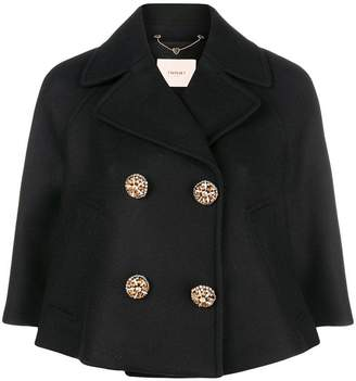Twin-Set double-breasted cropped jacket