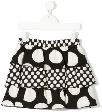 MSGM polka dot skirt
