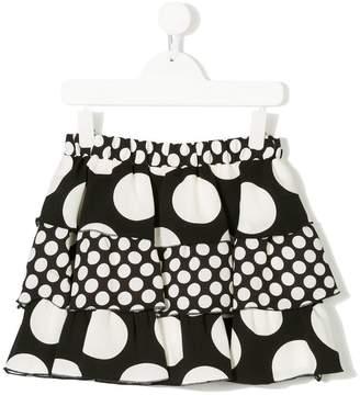MSGM Kids polka dot skirt