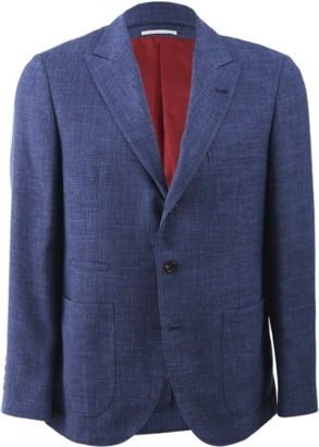 BRUNELLO CUCINELLI Patch Pocket Jacket $3,205 thestylecure.com
