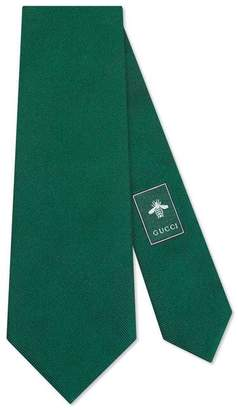 Gucci Kingsnake underknot silk tie