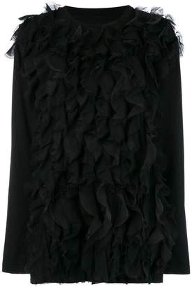Faith Connexion ruffled front jumper