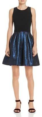 Aqua Fit-and-Flare Dress - 100% Exclusive