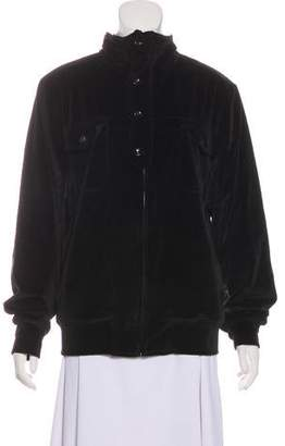 Saint Laurent Long Sleeve Bomber Jacket