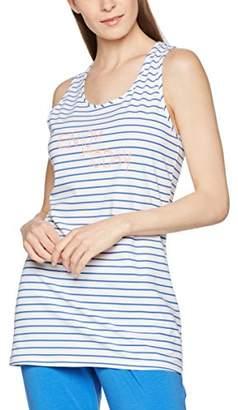 Bee Happy Women's Blue Pyjama Top,M