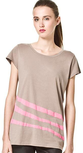 Marc by Marc Jacobs Torn Stripe Tee, Pink