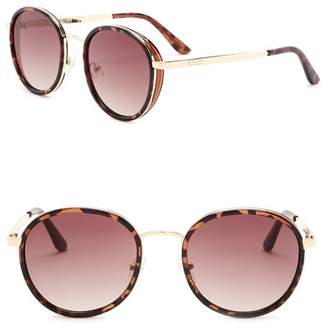 Kenneth Cole Reaction 53mm Round Sunglasses