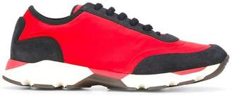Marni colour block low-top sneakers