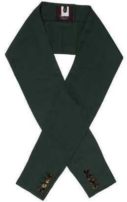 Jean Paul Gaultier Woven Knit Scarf