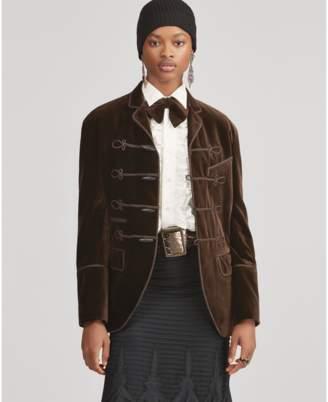 Ralph Lauren Celessee Velvet Jacket