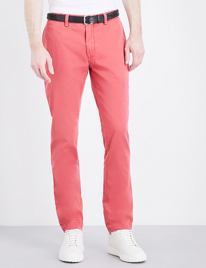 Polo Ralph Lauren Polo Ralph Lauren Bedford slim-fit tapered stretch-cotton chinos