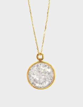 Aurelie Bidermann Fine Jewellery - Mini Chivor 18K Gold And Diamonds Medallion