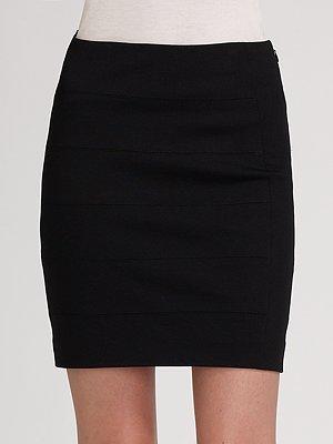 Vince Bandage Ponte Skirt