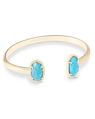 Kendra Scott Elton Pinch Cuff Bracelet in Gold
